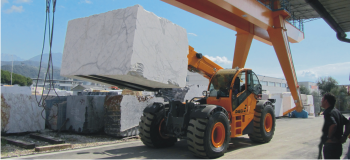 Telehandlers for special applications