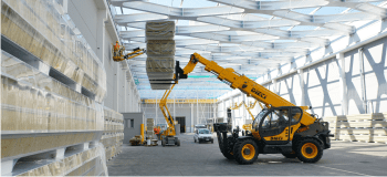 Telehandlers without rotation - construction range