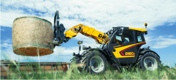 Telehandlers without rotation - agriculture range